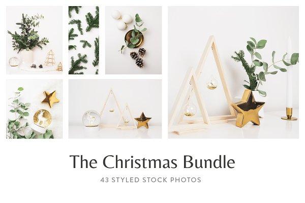 Christmas Styled Stock Photo Bundle