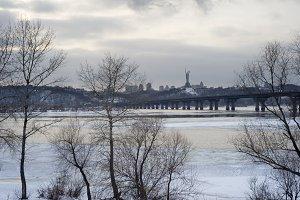 Panoramic Kyiv view. Ukraine