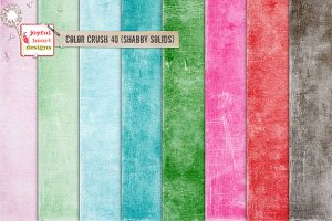 Color Crush 40 {shabby solids}