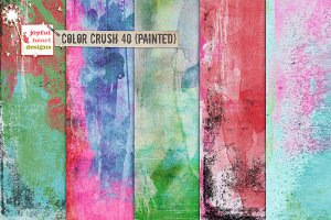 Color Crush 40 {painted}