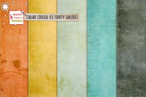 Color Crush 42 {dirty solids}