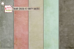 Color Crush 43 {dirty solids}