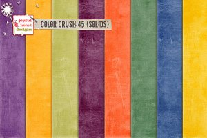 Color Crush 45 {shabby solids}