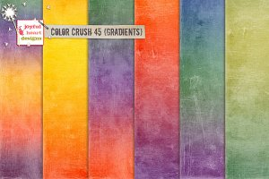 Color Crush 45 {gradients}