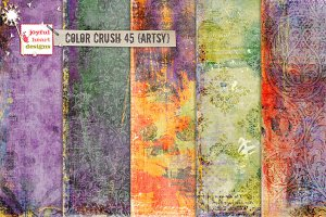 Color Crush 45 {artsy}