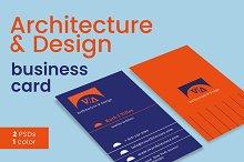 Architecture & Design Business Card