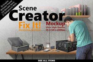 Scene Creator 5K FIX IT Desk Edition