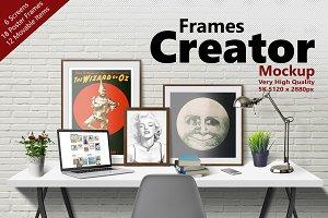 FRAMES CREATOR 5K Mockup