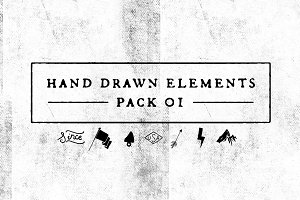 Hand Drawn Elements Pack 1