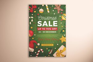 Christmas Sale Flyer Vol. 03