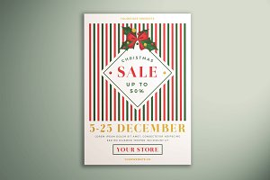 Christmas Sale Flyer Vol. 04