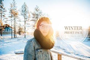 Lightroom Presets: Winter & Snow
