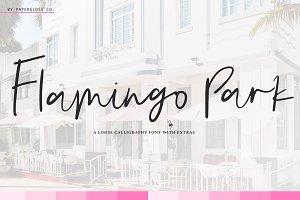 Flamingo Park + Bonus 10 Icons