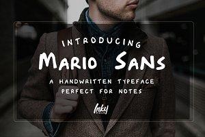 Mario Sans Font