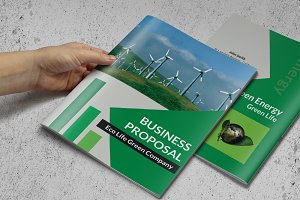 Green Business Proposal or Brochure