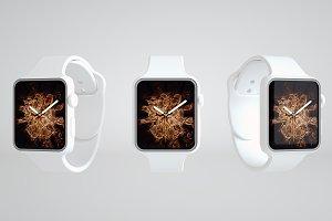 Apple Watch series 4 Mockup 5K