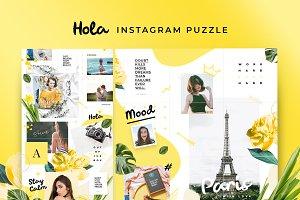 Instagram Puzzle - Hola
