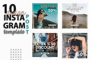Instagram Post Template-Fashion Week