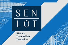 Senlot by  in Sans Serif Fonts