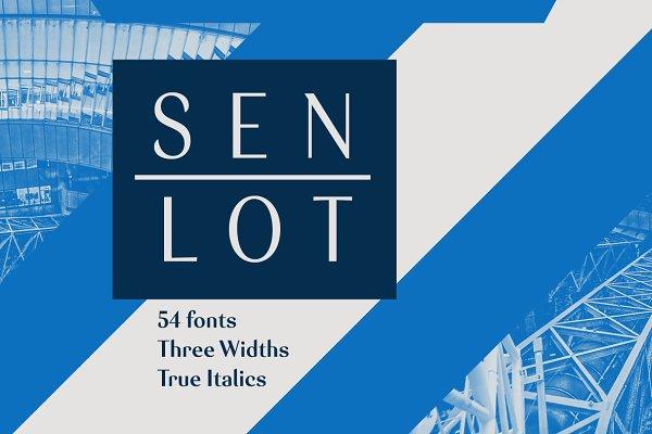 Sans Serif Fonts: insigne - Senlot