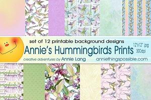 Hummingbird Prints