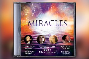 Miracles CD Album Artwork