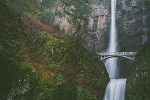 Across the Waterfall