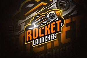 Rocket Launcher - Mascot&Esport Logo