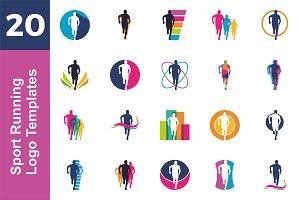 20 Logo Sport Running Bundle