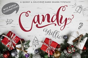 Candy - A Christmas Typeface