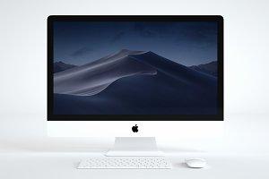 Apple iMac Mockup 5K
