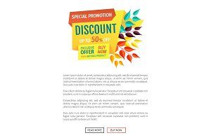 Exclusive Offer Product Poster