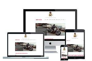 ET Motor WordPress Magazine website