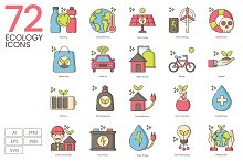 72 Green Environment & Ecology Icons by  in Icons
