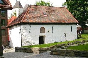 Old-fashioned Hut