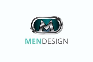 Men Design Logo