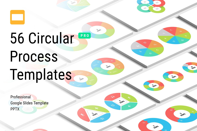 Circular Process Google Slides Templ ~ Google Slides