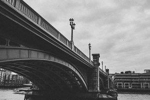 London Bridge Black and White