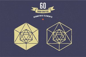 Geometric elements set