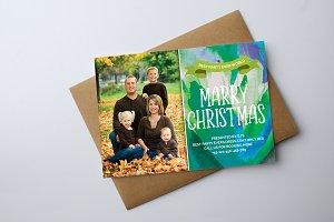 Family Christmas Invitation Card