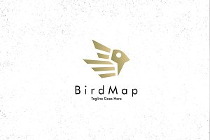 Bird Map Logo