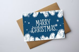 Happy Marry Christmas Post Card