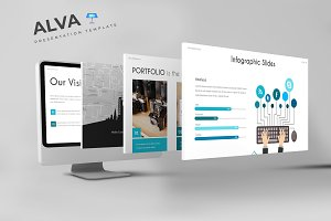 Alva - Keynote Template