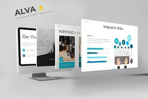 Alva - Google Slides Template