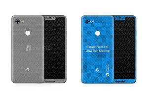 Google Pixel 3 XL Vinyl Skin Design