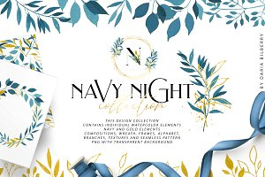 NAVY NIGHT collection