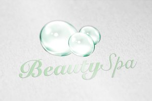 Bubble Beauty Spa Logo