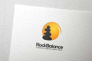 Rock Balancing Logo