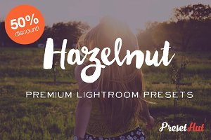 50% off Hazelnut Lightroom Presets