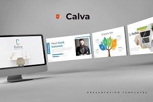 Calva - Powerpoint Template